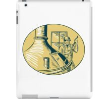 Brewermaster Brewer Brewing Beer Etching iPad Case/Skin