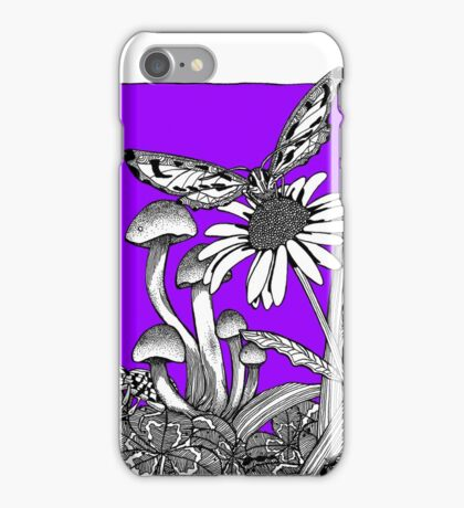 Pure Violet Big World iPhone Case/Skin