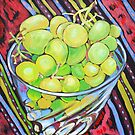 Grapes in Glass by marlene veronique holdsworth
