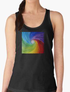 """Fine art. Abstract painting. Oil.""""Rainbow MOOD"""" :) Women's Tank Top"""
