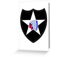 2nd Infantry Division (United States) Greeting Card