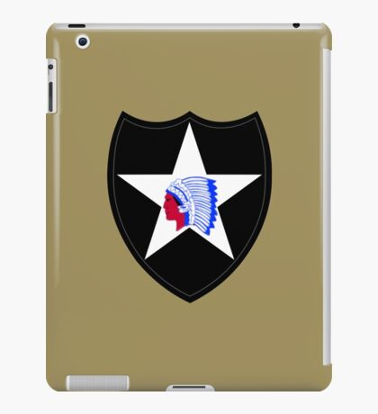 2nd Infantry Division (United States) iPad Case/Skin
