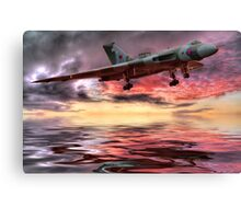 Sunset on The Vulcan - HDR Canvas Print