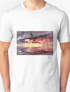 Sunset on The Vulcan - HDR T-Shirt