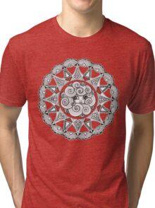 Madame Swirl Tri-blend T-Shirt
