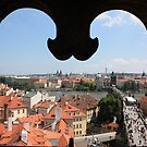 Prague Through a Window by Gothman