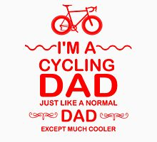 I'm A Cycling Dad - Red Font T Shirts, Stickers and Other Gifts T-Shirt