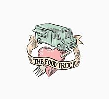Food Truck Heart Fork Etching T-Shirt