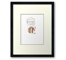 Doctor Who - Dr. Who Framed Print