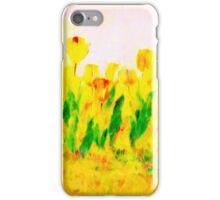Tulips in Springtime'... iPhone Case/Skin