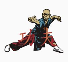 Warrior,kungfu One Piece - Short Sleeve