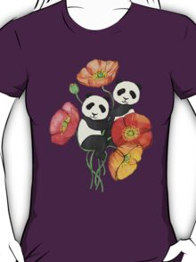 Poppies & Pandas T-Shirt
