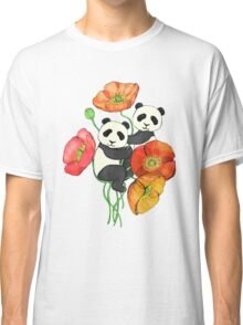 Poppies & Pandas Classic T-Shirt