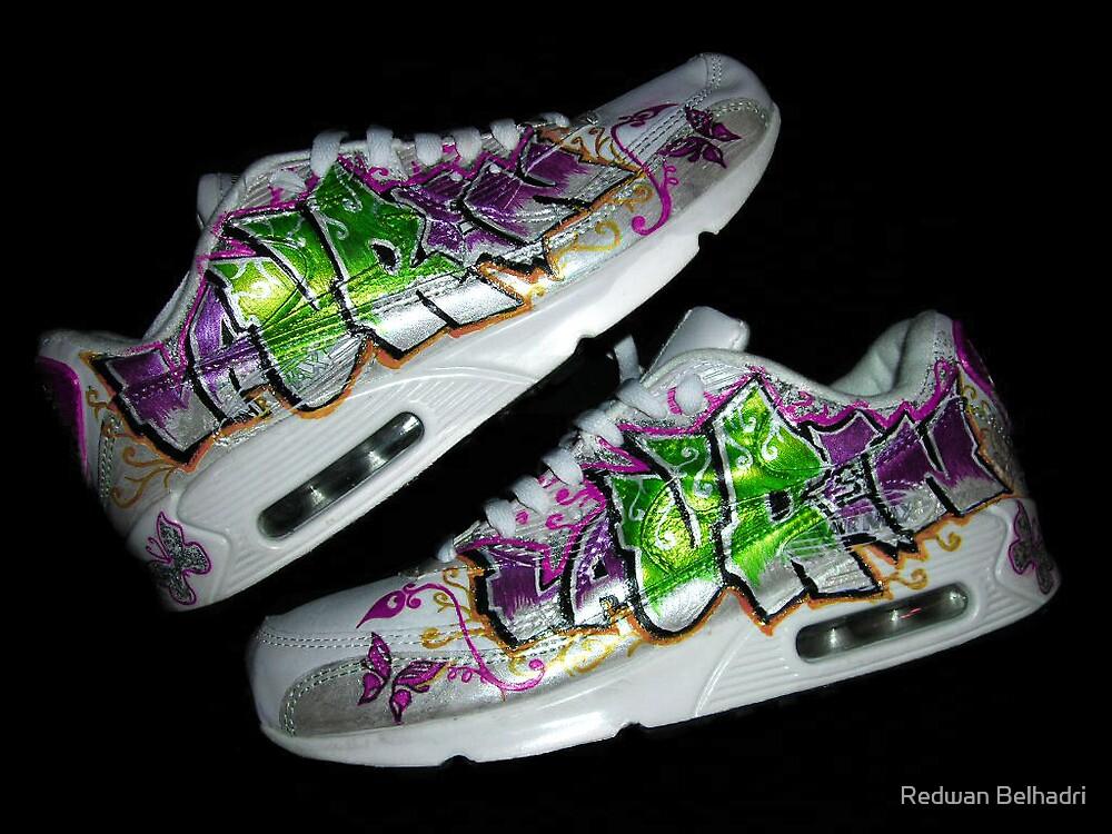 Lauren nike air max - shoes custom by Redwan Belhadri