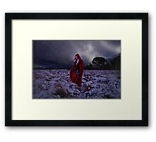Come find me, I'll be here. Framed Print