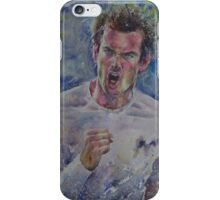 Andy Murray - Portrait 4 iPhone Case/Skin