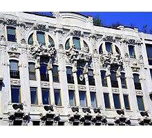 An ornate building at Milan Photographic Print