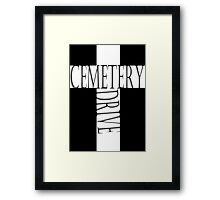 My Chemical Romance Poster Cemetery Drive Framed Print