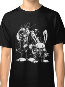 Sam & Max X Pulp Fiction (white) Classic T-Shirt
