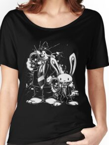 Sam & Max X Pulp Fiction (white) Women's Relaxed Fit T-Shirt