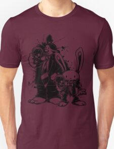 Sam & Max X Pulp Fiction (black) Unisex T-Shirt