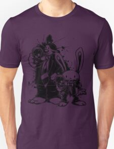 Sam & Max X Pulp Fiction (black) T-Shirt