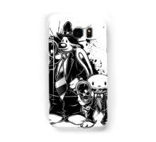Sam & Max X Pulp Fiction (black) Samsung Galaxy Case/Skin
