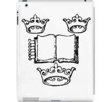 KING OF BOOKS iPad Case/Skin