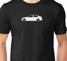 E46 Facelift German Sedan Unisex T-Shirt