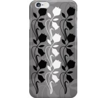 Layered Floral Silhouette Print (5 of 8 please see description) iPhone Case/Skin