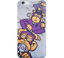 Corporate greed- see no evil, hear no evil, speak no evil! iPhone Case/Skin