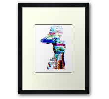 not your doll Framed Print
