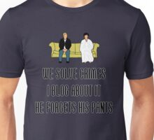 We Solve Crimes Unisex T-Shirt