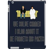 We Solve Crimes iPad Case/Skin