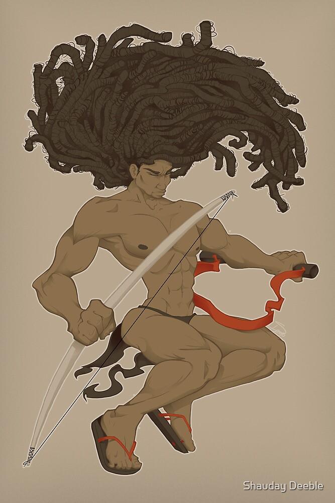 Dreaded Warrior by Shauday Deeble