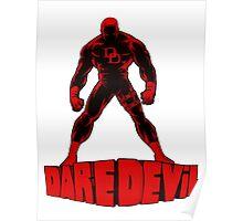 Daredevil letters Poster