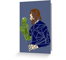 The Muppet Master Greeting Card