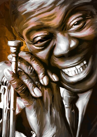 LOUIS ARMSTRONG.  by andy551