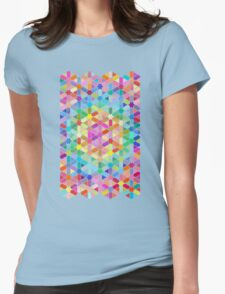 Rainbow Honeycomb with Stars T-Shirt