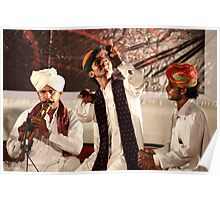 The folk artists from Rajasthan # 1 Poster