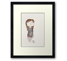 Doctor Who - Clara Oswald Framed Print