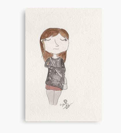 Doctor Who - Clara Oswald Canvas Print