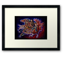 Axis of Awesome - Horse, Seahorse and Hen Framed Print