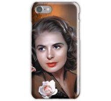 Ingrid Bergman iPhone Case/Skin