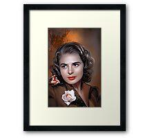 Ingrid Bergman Framed Print