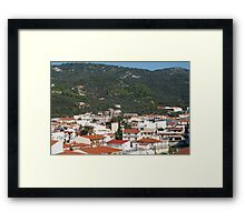 Skiathos Town view, Greece Framed Print