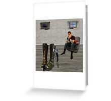 The Value of Labour Saving Devices Greeting Card