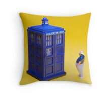 If I could turn back time! Throw Pillow
