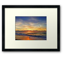 Old Bar Sunrise, Framed Print
