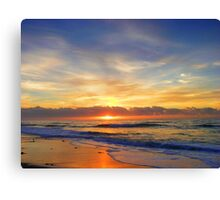 Old Bar Sunrise, Canvas Print